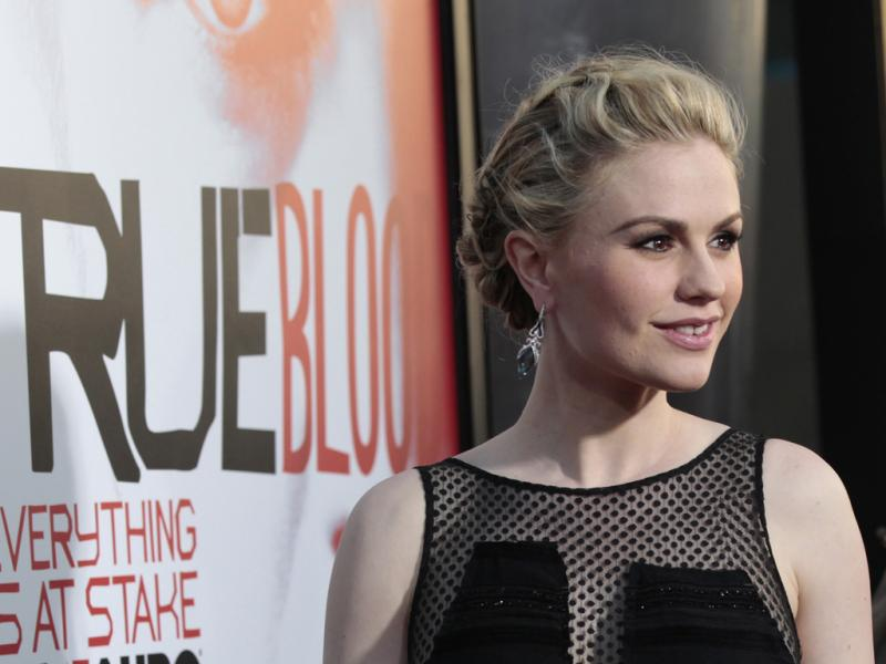 Anna Paquin na antestreia da 5º temporada da série «True Blood» (Reuters)