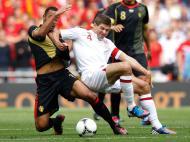 Inglaterra vs Bélgica (REUTERS)