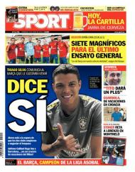 Sport: «Thiago Silva disse sim»
