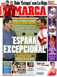 Marca: «Capello e Camacho de acordo, a Espanha é excecional»