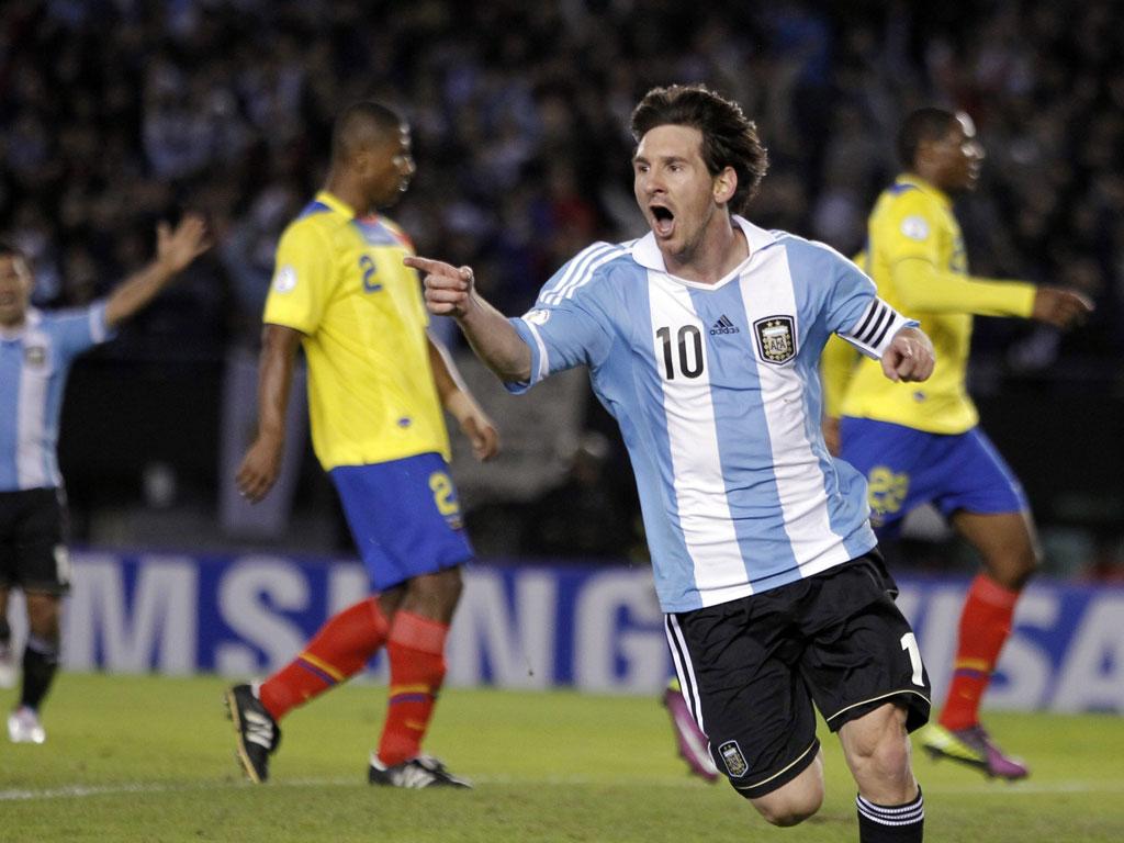 Messi (EPA/Leo la Valle)