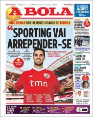 A Bola: Hugo Vieira é oficial