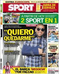 «Sport»: Dani Alves quer ficar no Barcelona