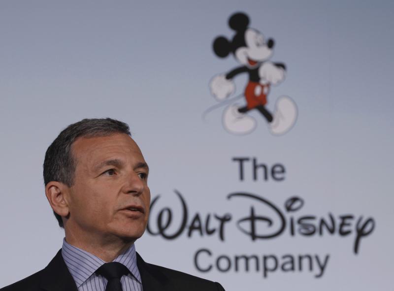 Robert Iger - Michelle Obama anuncia parceria por comida saudável com a Walt Disney Foto: Reuters