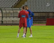 Paulo Bento com Bosingwa