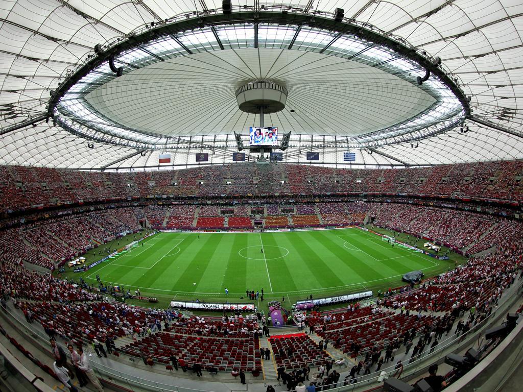 Euro 2012 - Estádio nacional de Varsóvia