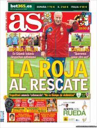 «As»: uma mistura de futebol com a situação política/financeira espanhola