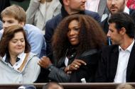 Serena Williams - Famosos em Roland Garros Foto: Reuters
