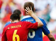 Iniesta, 11 remates à baliza