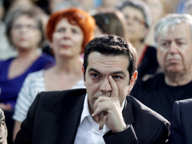Alexis Tsipras, líder da Coligação da Esquerda Radical [Foto: Reuters]