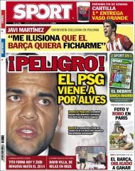 «Sport»: PSG tenta Dani Alves