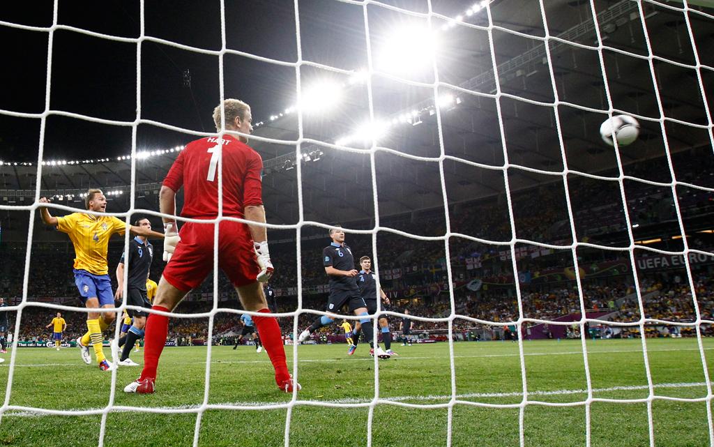 Suécia vs Inglaterra (REUTERS/Michael Dalder)