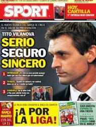 Sport: «Sério, seguro, sincero - Tito Vilanova»