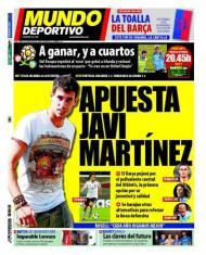 Mundo Deportivo: «Barça aposta em Javi Martinez»