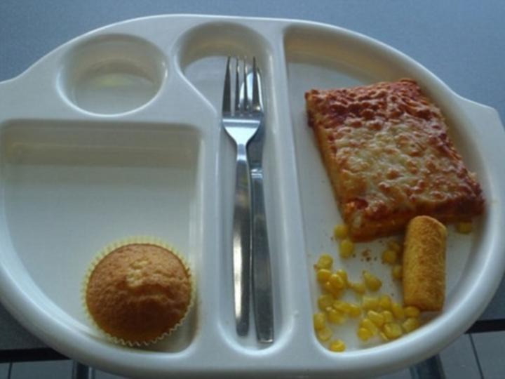 Comida na escola da martha