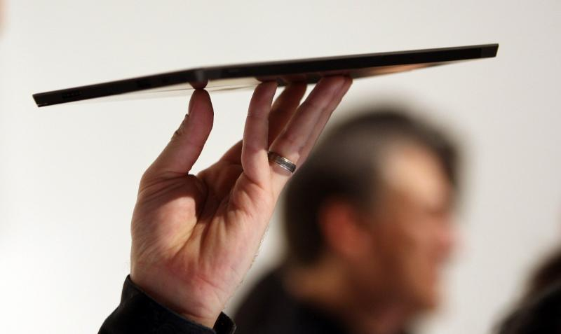 Surface, o novo tablet da Microsoft (REUTERS/David McNew)