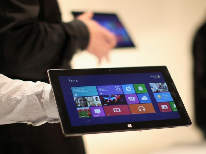 Surface, o novo tablet da Microsoft (REUTERS/David McNew)
