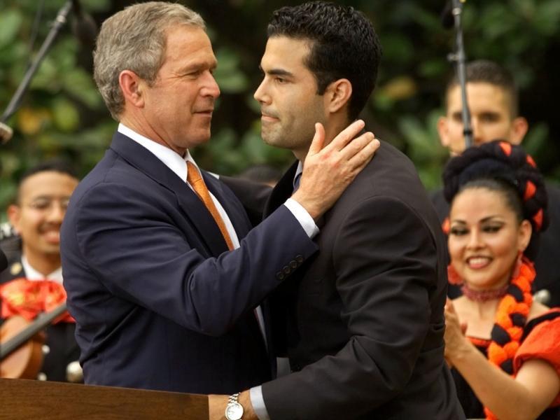 George P, um terceiro Bush na calha: com o tio