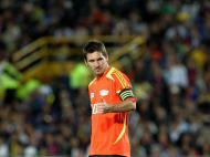 Amigos de Messi empataram com «Resto do Mundo» [EPA]