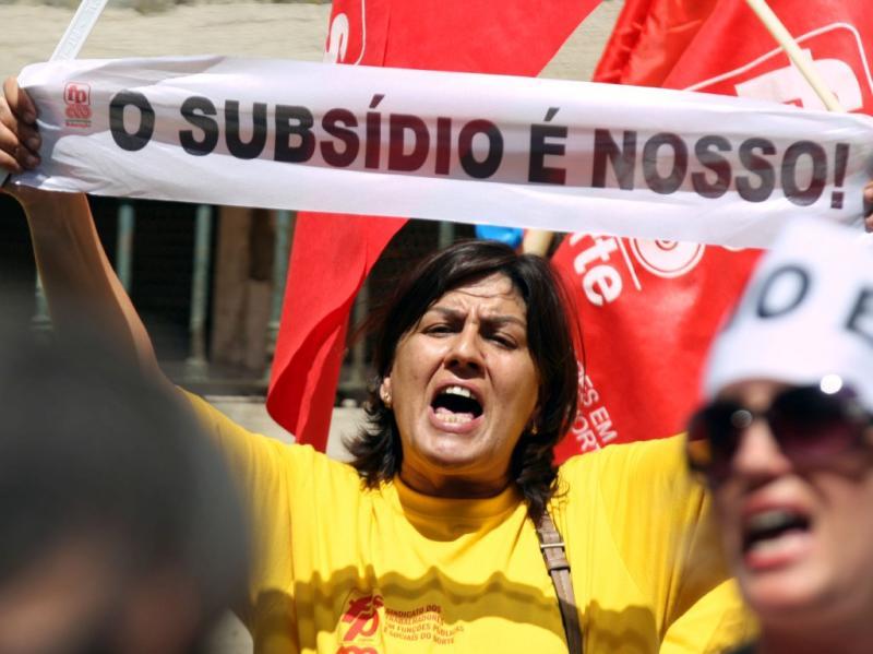 Protesto da Função Pública (JOSE SENA GOULAO/LUSA)