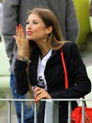 Cathy Fischer, namorada de Mats Hummels (EPA/Oliver Weiken)