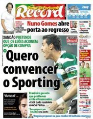 Record: Xandão quer transferência em definitivo