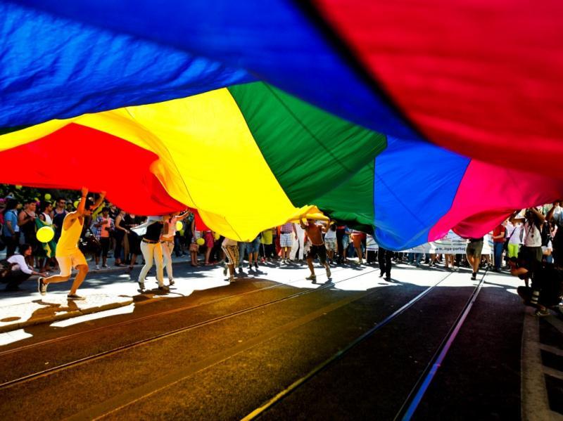 Parada gay em Lisboa (MIGUEL A. LOPES/LUSA)