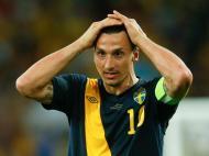 Ibrahimovic, 7 remates à baliza