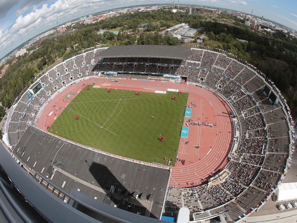 Estádio Olímpico de Helsínquia (EPA/Michael Kappeler)