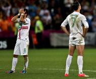 Cristiano Ronaldo - Portugal perde frente à Espanha em grandes penalidades Foto: Lusa