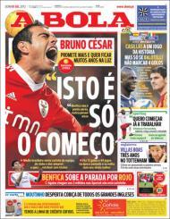 «A Bola»: Bruno César promete mais