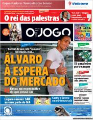 «O Jogo»: Álvaro Pereira na expectativa