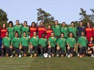 Seleção sub-19 futebol feminino (LUSA/Paulo Novais)