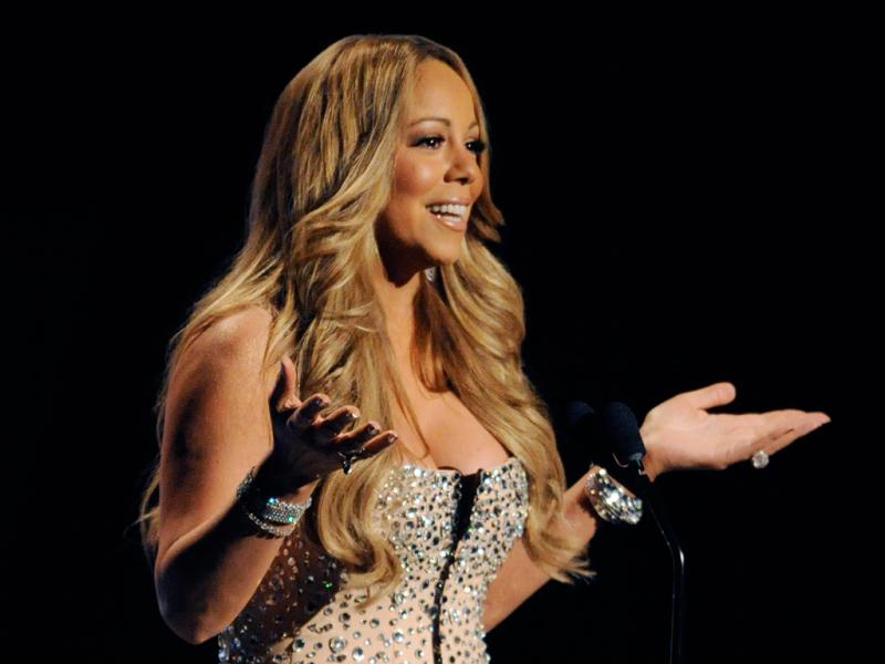 Mariah Carey nos BET Awards 2012 (Reuters)