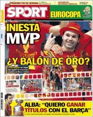 Quiosque: Iniesta, MVP e... Bola de Ouro? (Sport)