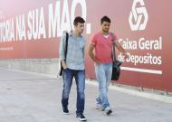 Benfica: Luisinho e Hugo Vieira