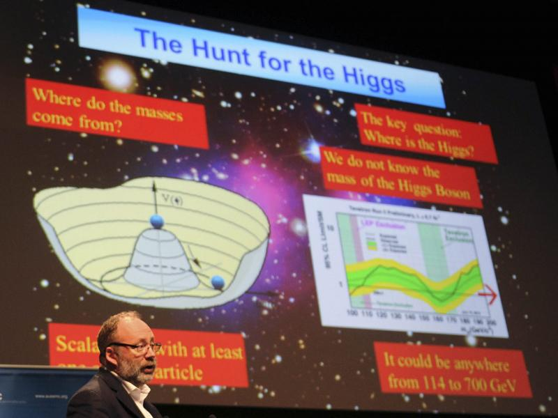 Bosão de Higgs (Reuters)