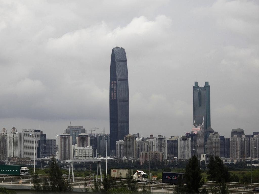 Edifícios mais altos do mundo: 9, Kingkey 100 (Shenzhen, China), 442 m e 100 andares