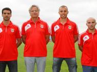 Benfica B: Veríssimo, Norton de Matos, Fernando Ferreira e António Alves