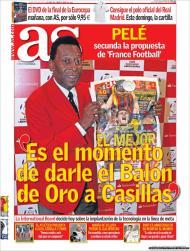 As: Pelé vota em Casillas