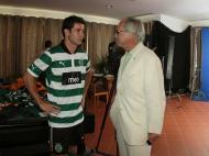 Pererinha e Godinho Lopes (foto: Sporting)