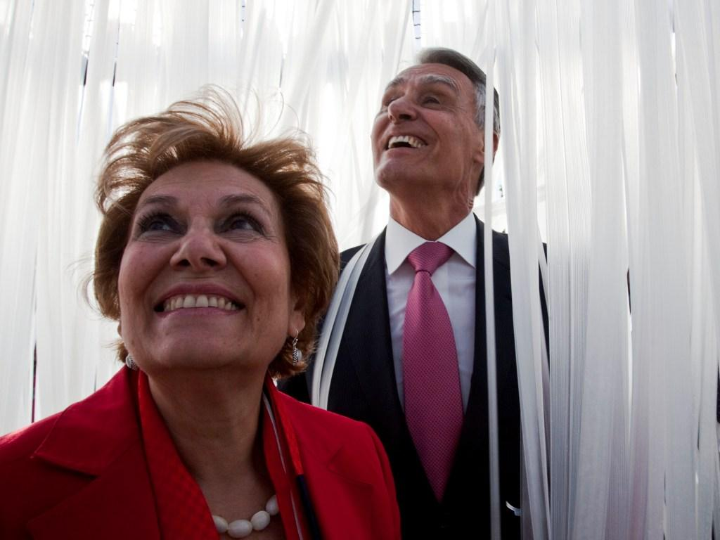 Cavaco Silva e Maria Cavaco Silva (LUSA)