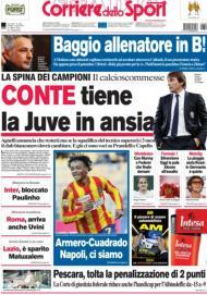 Corriere dello Sport: Conte em risco?