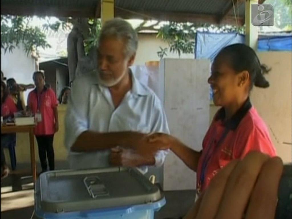CNRT de Xanana Gusmão vence sem maioria