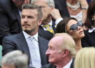David e Victoria Beckham - Final Wimbledon Foto: Reuters