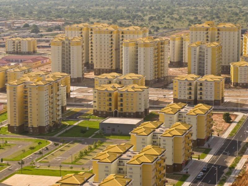 Nova Cidade do Kilamba (fotos Facebook)