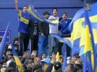 Manifestação dos adeptos do Boca Juniors