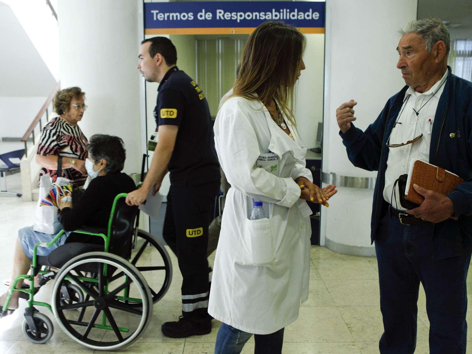 Greve dos médicos (LUSA)