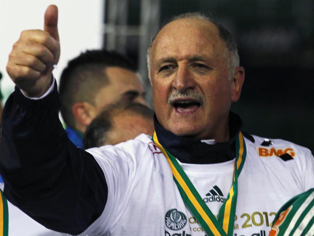 Luiz Felipe Scolari [Reuters]