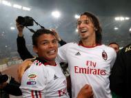 Ibrahimovic e Thiago Silva
